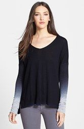 Vince Ombre V-Neck Sweater