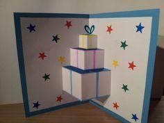Des patrons pour réaliser simplement de jolies cartes de voeux en 3 dimensions pour impressionner à Noël. L'ouverture de la carte fera apparaître un sapin ou des cadeaux en 3D.
