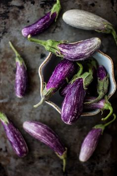 The Bojon Gourmet: Roasted Tiny Eggplant with Muhammara and Feta