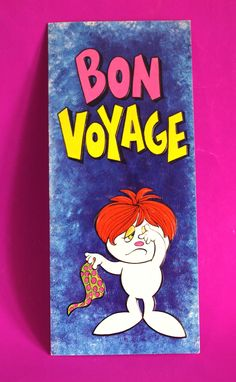 Bon Voyage Farewell Card - Vintage Retro Mark I Chicago USA - Unused - Good Luck Moving Cards by FunkyKoala on Etsy