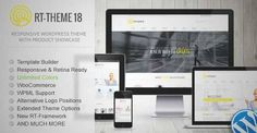 Download and review of RT-Theme 18 Responsive WordPress Theme, one of the best Themeforest Corporative themes