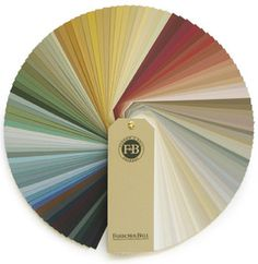 "Farrow and Ball Paints - a British Company with one of the best websites I have seen out there. All of their 132 colors can be ordered in a sample size. Their self help ""decorating"" page walks you through selecting the right paint, finish, and how much to use. Love this company."