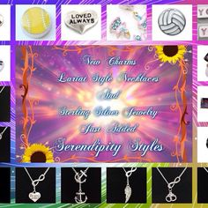 #NewItems in my #SerendipityStyles store at www.shopserendipitystyles.com/#Kshumate. #SterlingSilver #Jewelry, #LariatNecklaces & #Charms