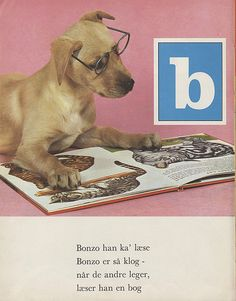 from 'min hunde abc' (published in denmark, 1969)