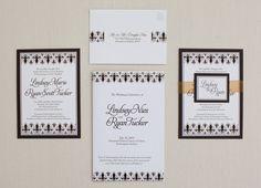Lindsey + Ryan Wedding Invites