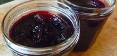 Grape Jam - Nells Old Fashion Recipes Concord Grape Jelly, Grape Jam, Jam Recipes, Canning Recipes, Recipies, Fruit And Veg, Fruits And Veggies, Good Food, Yummy Food