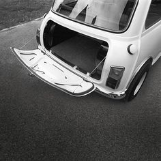 MINI vehicles have always been great get-away-from-it-all cars. What's in your boot?#history #classic