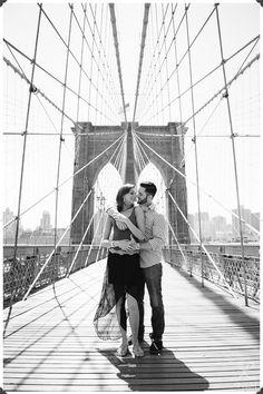 Brooklyn Engagement Session, NYC Wedding Photographers, NJ Wedding Photographers, Brooklyn Bridge Engagement Photos, NYC FIlm Photographer
