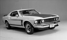 1969 Ford Mustang Boss 302- A pre-production photo