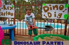 30 Dinosaur Birthday Party Ideas You Will Love | Spaceships and Laser Beams