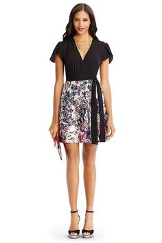 NWT! DVF DIANE VON FURSTENBERG Ivy Wool Combo Dress Size 8 $468 NEW #DVF #Sheath #Cocktail