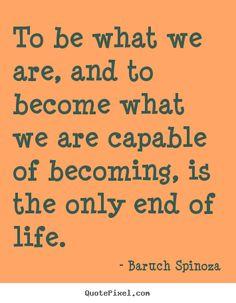 baruch spinoza quotes - Google Search