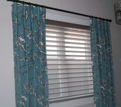 Side Panels with Silhouette Window Shades by Sheila's in Crowfoot