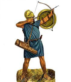 -0200 c. Cretan archer, 200 BC