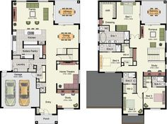 Como 390 Home Design hotondo homes Great pantry and master suite. Dream House Plans, Modern House Plans, House Floor Plans, Home Design Floor Plans, Dream Home Design, House Design, Hotondo Homes, Storey Homes, House Blueprints