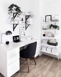 monochrome workspace
