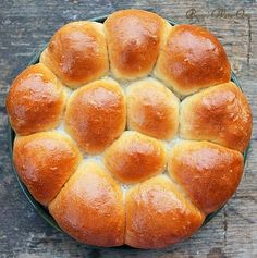 Delicious Classic Dinner Rolls - Bunny's Warm Oven made with rapid rise yeast
