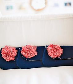 Bridesmaid gift idea: Custom clutches from Etsy!