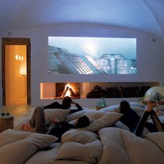 Basement Theater Ideas small home theater ideas - repinedhttp://austinarealuxuryhomes