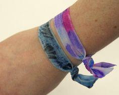 How to Tie Dye Elastic