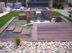 Jardin mineral on pinterest minerals chelsea flower show and merlin - Bassin jardin bois reims ...