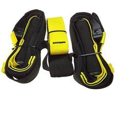 Original Suspension Trainer, LIHAO Original Suspension Straps with Door Anchor for Body Strength Workout