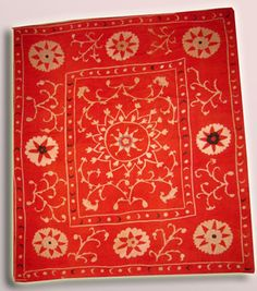 ANTIQUE UZBEK SUZANI  Hand Embroidery From by sunnytreez on Etsy, $350.00