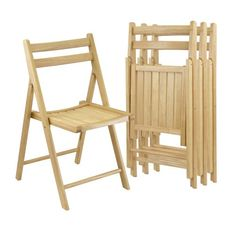 Winsome Wood Indoor Beech Wood Slat Standard Folding Chair at Lowe's. The Winsome Wood Robin Folding Chair set has never looked so handsome. Smooth slatted seats give a classic yet clean look that can complement almost any Furniture Legs, Dining Room Furniture, Dining Chairs, Outdoor Furniture, Dining Table, Kitchen Dining, Furniture Design, Ikea Chairs, Desk Chairs