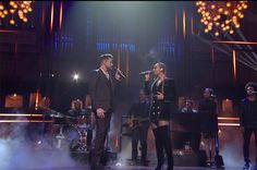 Adam Lambert & Leona Lewis Have a 'Girl Crush' at CMT Artists of the Year: Watch | Billboard
