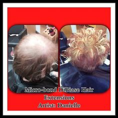 Before/after Fusion Extensions, Extensions Hair, Appliques, Weave Hair Extensions