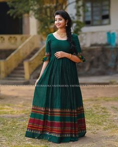 long gown dress Chic Ethnic Long Dresses For This Summer! Keep Me Stylish Cotton Long Dress, Long Gown Dress, Lehnga Dress, The Dress, Long Dresses, Anarkali Gown, Frock Dress, Long Gowns, Chiffon Dresses
