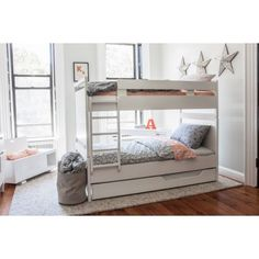 Maybe if baby is a girl? :) Argington Brookline Bunk Bed Collection Combines Sustainability With Affordability