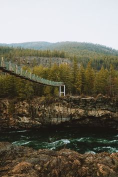 Travel deep into the Montana forest and discover the secret Kootenai Falls suspension bridge! With a roaring waterfall, (which is the set of many Hollywood movies!) it's now a popular Inland Northwest destination. Come see it for yourself with our all-inclusive mountain guide! #montana #hiking #outdoors #montanamoment #usa