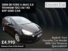 Come to Country Car to find the best selection of used Ford cars for sale in Warwick. Contact a member of our team to arrange a test drive. Ford S Max, Car Search, Used Ford, Ford Explorer, Ford Motor Company, Amazing Cars, Driving Test, Supercar, Cars For Sale