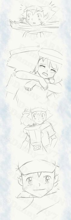 Amourshipping Comic Part 2/3  Made By: @Danny_ARN.  Damany7