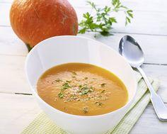 Cremige Hokkaido-Kürbis Suppe