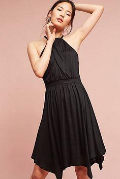 Rochelle Halter Mini Dress