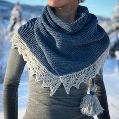 Ravelry: Vintervarmtsjal / Winterwarming Shawl pattern by Strikkelisa Crochet Scarves, Knit Crochet, Head & Shoulders, Knitting Projects, Skirts, Pattern, Sweaters, How To Make, Ravelry
