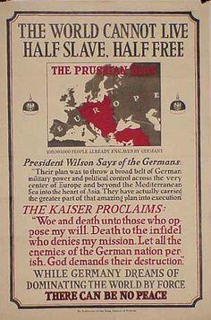 """Propaganda In Wartime - World War I"""">"""