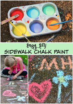 Easy DIY Sidewalk Ch
