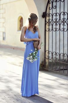 LOOK OF THE DAY | Make Life Easier in a ZARA Maxi Dress - Dresses to wear to a wedding  Wound be perfect with longer sleeves