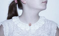 white crochet collar by petitus on Etsy, $18.00