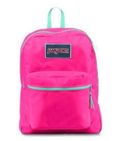 Stand out from the crowd with the JanSport Overexposed backpack. Coming in a variety of fluorescent colors and the classic SuperBreak silhouette, self expression is not a problem with this backpack.