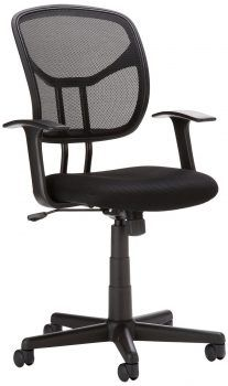 Flash Furniture Mid Back Mesh Task Office Chair With Black Fabric Seat for sale online Best Ergonomic Office Chair, Best Office Chair, Most Comfortable Office Chair, Home Office Chairs, Ergonomic Chair, Home Office Furniture, Desk Office, Furniture Sets, Paint Furniture