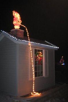 Decorações bizarras, enfeites trash e ideias assustadoras de Natal