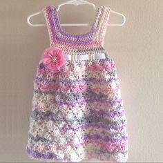 Crochet For Children: Vintage Toddler Dress - Free Pattern