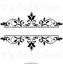 Wedding Clip Art Black And White Border - Cliparts.co ...