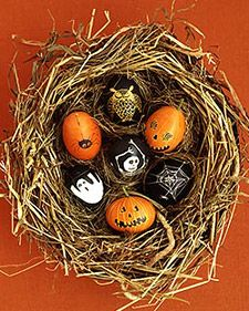 Halloween Themed Easter Eggs