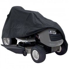 """Deluxe Riding Lawn Mower Cover Black Up To 54"""" Decks #ClassicAccessories"""