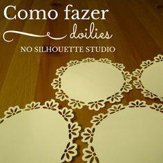 Corte Cole Crie: Como fazer doilies no Silhouette Studio